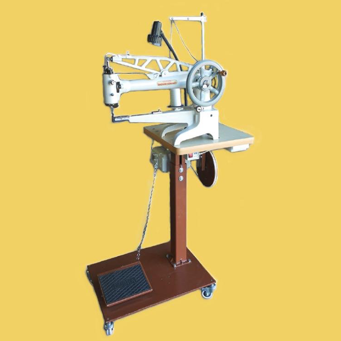 Leather Machine Co COBRA Class 4040 Patch Machine Interesting Sewing Machine For Patches